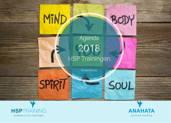 HSP training agenda 2018