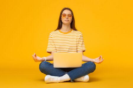 meditatie humor
